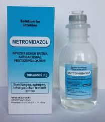 metronidazol iv